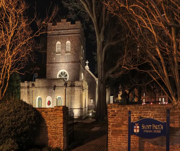 Led Facade Lighting Saint Paul S Church Norfolk Virginia