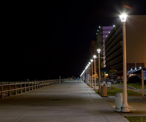 Boardwalk Lighting Replacement City Of Virginia Beach