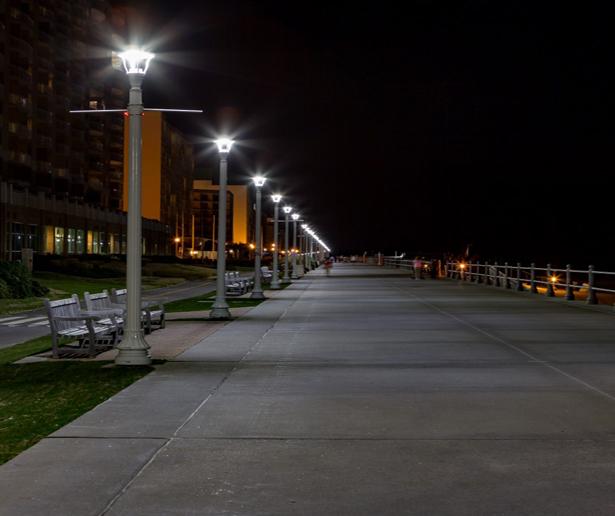 boardwalk lighting replacement city of virginia beach virginia